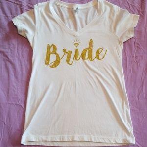 """""""Bride"""" tee"""